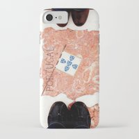 feet iPhone & iPod Cases featuring Feet by Little Miss Joey
