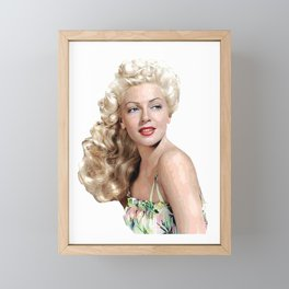 Icon 1 Framed Mini Art Print