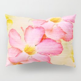 Desert Rose and Orchids  Pillow Sham