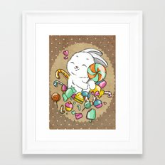 Candy Framed Art Print