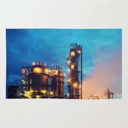 Oil Refinery Rug