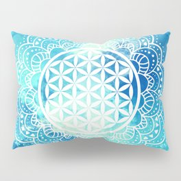 Flower Of Life (Summer Sky) Pillow Sham