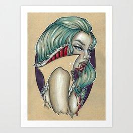 Vampira Art Print