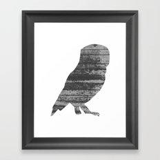 Owl (The Living Things Series) Framed Art Print