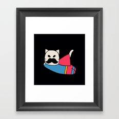 super cat-327 Framed Art Print