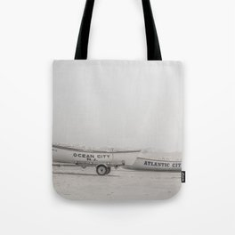 New Jersey Lifeboats Tote Bag