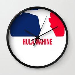 Hula Wahine (Hula Girl) Wall Clock
