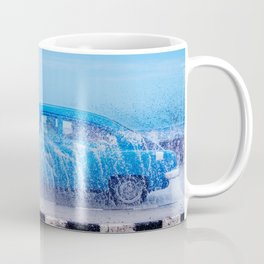 Waves and Classic Cars of the Malecón - 2 Coffee Mug