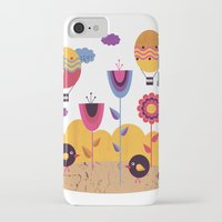 spring iPhone & iPod Cases featuring Spring by Kakel