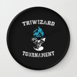 Triwizard Tournament Wall Clock
