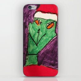 The Grinch iPhone Skin