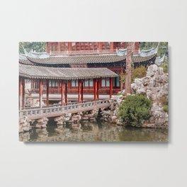 Yuyuan Garden, Shanghai, China Metal Print