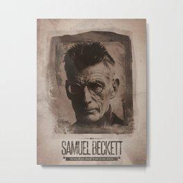 Samuel Beckett Metal Print