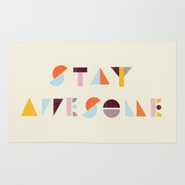 Stay Awesome Rug