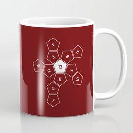 Unrolled D12 Coffee Mug