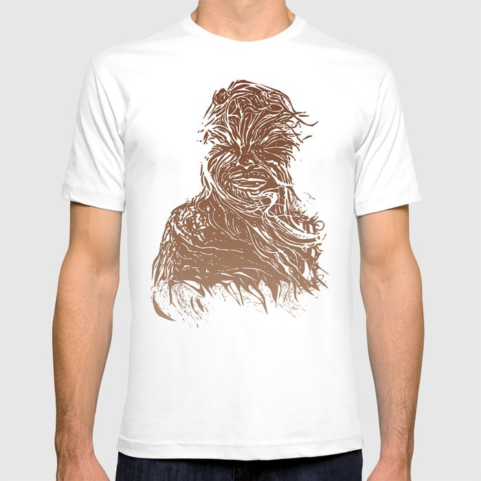Starwars Chewbacca T Shirt By Burnishandpress Society6