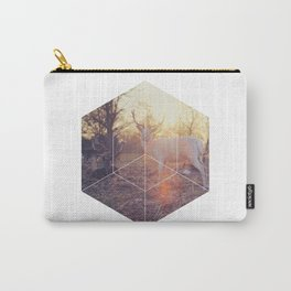 Magical Deer - Geometric Photography Carry-All Pouch