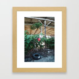 The things that never will be again. Framed Art Print