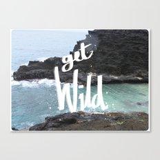 get wild Canvas Print
