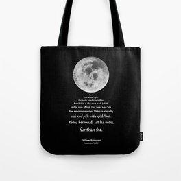 Moon Bridge Shakespeare Tote Bag