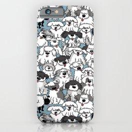 Aqua Dogs iPhone Case