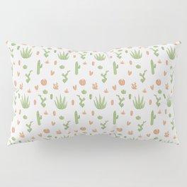 Cacti Pattern Green/Orange Pillow Sham