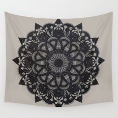 Black Space  Wall Tapestry