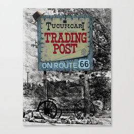 Trading Post Canvas Print