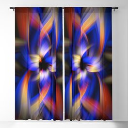Abstract Fractal Background 5 Blackout Curtain