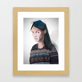 Indian boy Framed Art Print