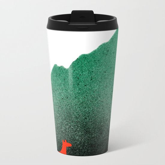 Man & Nature - Island #1 Metal Travel Mug