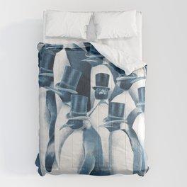 A Gathering of Gentlemen (square format) Comforters