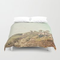west coast Duvet Covers featuring West Coast 1 by Sylvia C