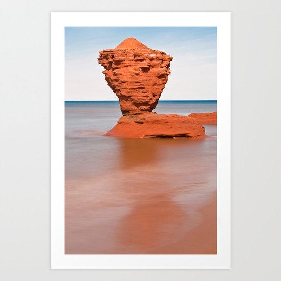 Teapot Rock Art Print