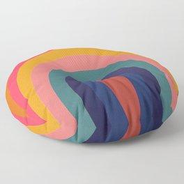 HOMEMADE RAINBOW REBOOT Floor Pillow