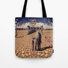 The road to hedonisum Tote Bag