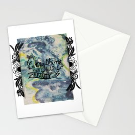 Everything Has Beauty Stationery Cards