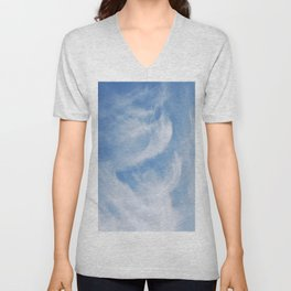 Clouds and sky Unisex V-Neck