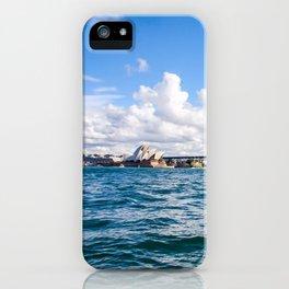 Sydney Harbour Bridge and the Sydney Opera House. Australia. iPhone Case