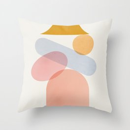 Abstraction_Home_Sweet_Home Throw Pillow