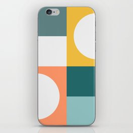 Modern Geometric 53 iPhone Skin