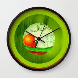 The Mighty Snail Wall Clock