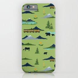Alaska - Green iPhone Case