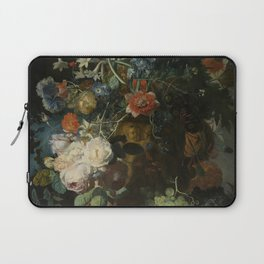 Jan van Huysum - Still life with flowers and fruits (1721) Laptop Sleeve