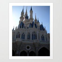Disney World Cinderella's Castle  Art Print