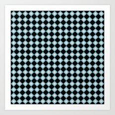 Black Diamonds (Smaller Print) Art Print