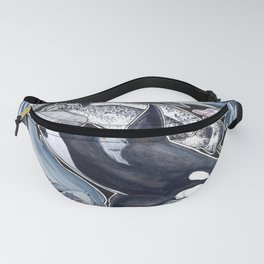 Dolphin, orca, beluga, narwhal & cie Fanny Pack