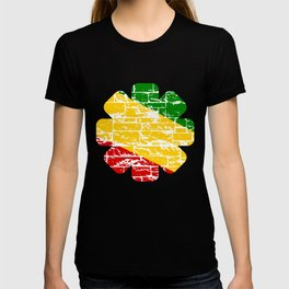 Rastafari Flag T-shirt