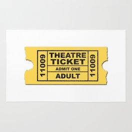 Theatre Ticket Rug
