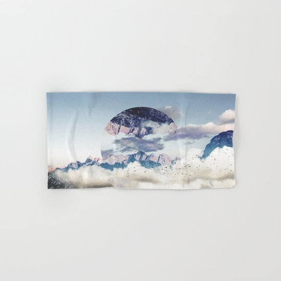 Abstract Mountains Hand & Bath Towel